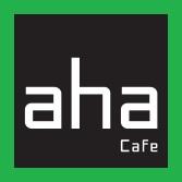 Kết quả hình ảnh cho aha cafe logo